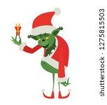 Green Christmas Monster Cartoon ...