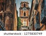 duomo steeple seen through a... | Shutterstock . vector #1275830749