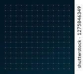 hud grid interface. radar... | Shutterstock .eps vector #1275846349