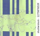 abnormal abstract texture...   Shutterstock . vector #1275878539