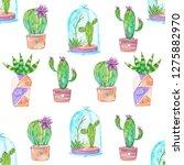 seamless pattern of unusual ... | Shutterstock . vector #1275882970