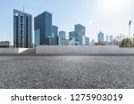 panoramic skyline and modern... | Shutterstock . vector #1275903019