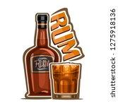 illustration of alcohol drink... | Shutterstock . vector #1275918136