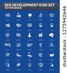 search engine optimisation... | Shutterstock .eps vector #1275942646