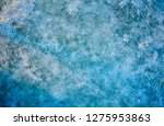 texture of ice blue surface.... | Shutterstock . vector #1275953863