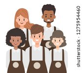staff people in group character.... | Shutterstock .eps vector #1275954460