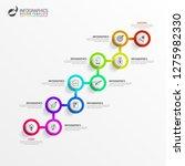 infographic design template....   Shutterstock .eps vector #1275982330