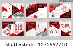 brochure creative design.... | Shutterstock .eps vector #1275992710