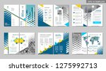 brochure creative design.... | Shutterstock .eps vector #1275992713