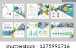 brochure creative design.... | Shutterstock .eps vector #1275992716