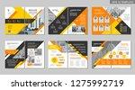 brochure creative design.... | Shutterstock .eps vector #1275992719