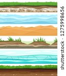 soil layers. campo ground...   Shutterstock .eps vector #1275998656