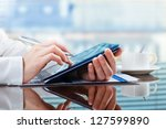 accounting. | Shutterstock . vector #127599890