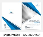 brochure template flyer design... | Shutterstock .eps vector #1276022950