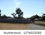 the old korean traditional... | Shutterstock . vector #1276023283