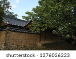 the old korean traditional... | Shutterstock . vector #1276026223