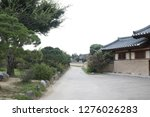 the old korean traditional... | Shutterstock . vector #1276026283