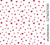 seamless watercolor pattern... | Shutterstock . vector #1276027030