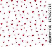seamless watercolor pattern... | Shutterstock . vector #1276027213
