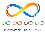 vector unreal symbol of... | Shutterstock .eps vector #1276027423