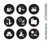 9 vector icon set   dust... | Shutterstock .eps vector #1276034086
