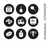 9 vector icon set  ... | Shutterstock .eps vector #1276034239