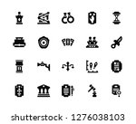 vector illustration of 20 icons....