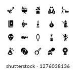vector illustration of 20 icons.... | Shutterstock .eps vector #1276038136
