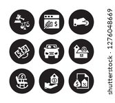 9 vector icon set   legal... | Shutterstock .eps vector #1276048669