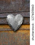 Photo Of Metal Heart On A...