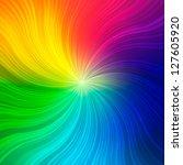 Rainbow Concept Background. ...