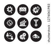 9 vector icon set   seo ranking ... | Shutterstock .eps vector #1276061983