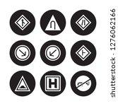 9 vector icon set   merging ... | Shutterstock .eps vector #1276062166