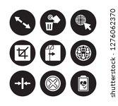 9 vector icon set   diagonal... | Shutterstock .eps vector #1276062370