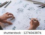 animator designer development... | Shutterstock . vector #1276063876