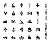 Vector Illustration Of 25 Icons....