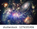 nebulae an interstellar cloud... | Shutterstock . vector #1276101406