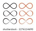 mobius loop infinity vector....   Shutterstock .eps vector #1276114690