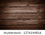 old wooden planks background  | Shutterstock . vector #1276144816