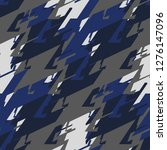 abstract geometric seamless... | Shutterstock .eps vector #1276147096