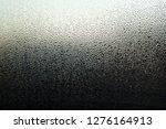 water drops on window glass ... | Shutterstock . vector #1276164913