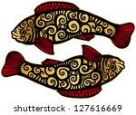 fishes   Shutterstock . vector #127616669