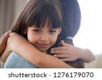 cute little child girl... | Shutterstock . vector #1276179070
