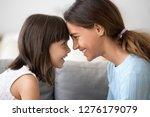 cute little kid girl and... | Shutterstock . vector #1276179079