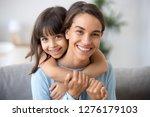 beautiful family of single... | Shutterstock . vector #1276179103