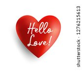 valentines day background with...   Shutterstock .eps vector #1276215613