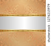 ornamental background with... | Shutterstock .eps vector #1276215979