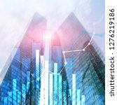 financial growth graph. sales... | Shutterstock . vector #1276219186