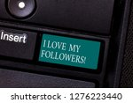 text sign showing i love my...   Shutterstock . vector #1276223440