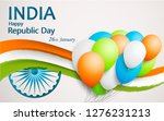 vector illustration of india... | Shutterstock .eps vector #1276231213